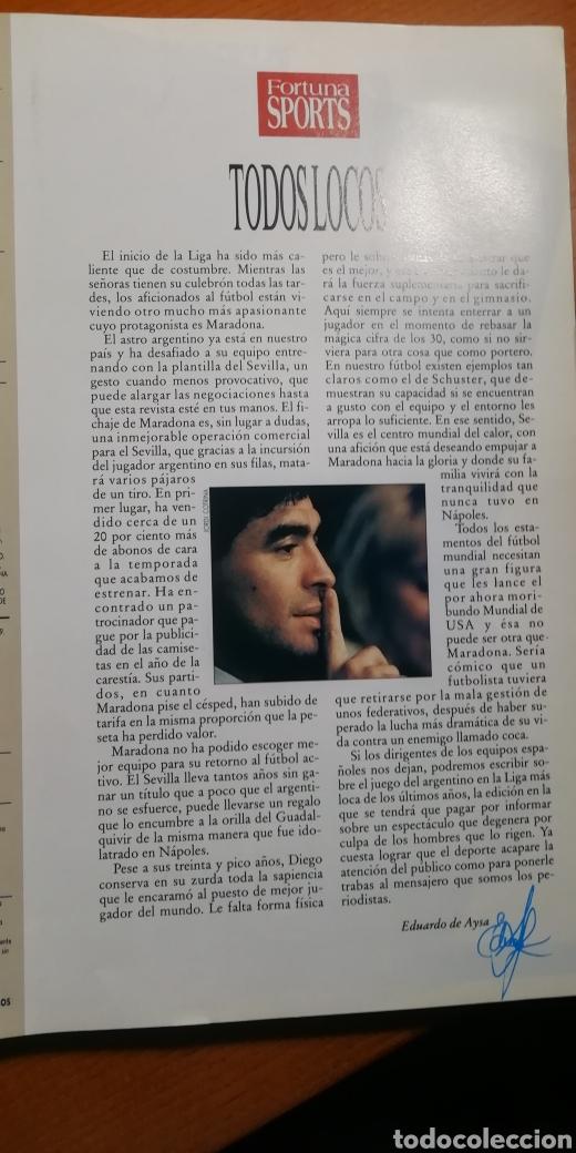 Coleccionismo deportivo: DIEGO MARADONA - album FOTOS NUNCA VISTAS. OJO COLECCIONISTAS. - Foto 13 - 227064726