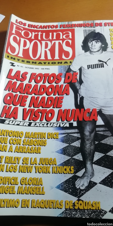 DIEGO MARADONA - ALBUM FOTOS NUNCA VISTAS. OJO COLECCIONISTAS. (Coleccionismo Deportivo - Revistas y Periódicos - otros Fútbol)