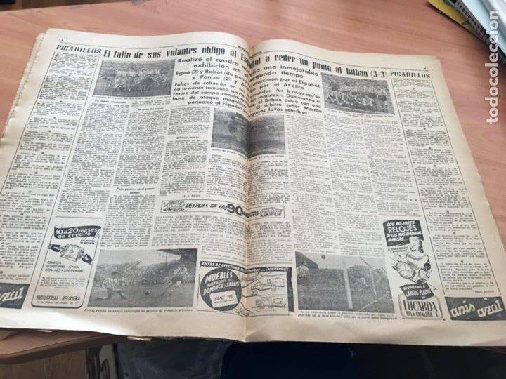 Coleccionismo deportivo: BARCELONA DEPORTIVA Nº 281 12 NOVIEMBRE 1951 ESPAÑOL - BILBAO Y OTROS (AB-3) - Foto 5 - 227079155