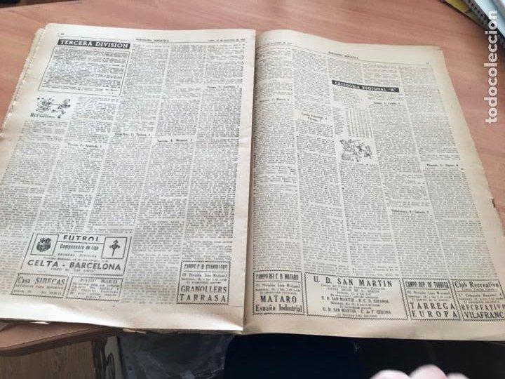 Coleccionismo deportivo: BARCELONA DEPORTIVA Nº 281 12 NOVIEMBRE 1951 ESPAÑOL - BILBAO Y OTROS (AB-3) - Foto 6 - 227079155