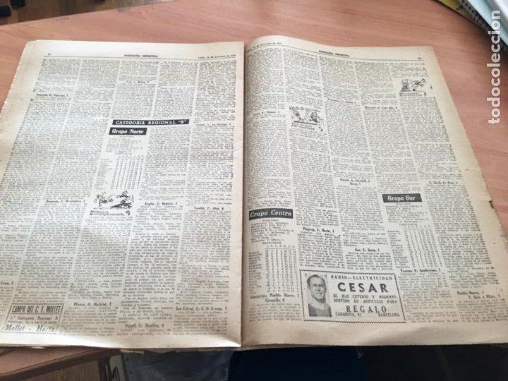 Coleccionismo deportivo: BARCELONA DEPORTIVA Nº 281 12 NOVIEMBRE 1951 ESPAÑOL - BILBAO Y OTROS (AB-3) - Foto 7 - 227079155