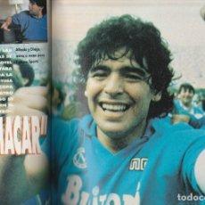 Coleccionismo deportivo: DI STEFANO ENTRENVISTA A MARADONA 1989 FORTUNA SPORTS INTERNACIONAL Nº 7.ESCASA. Lote 219433396