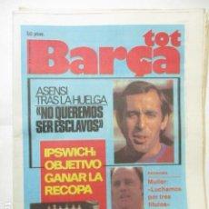 Collectionnisme sportif: TOT BARÇA Nº 6 - 5 DE MARZO DE 1979. Lote 227605310