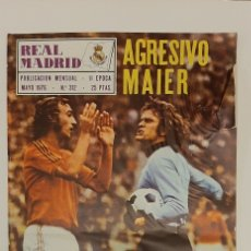 Collectionnisme sportif: REVISTA REAL MADRID. MAYO 1976.N° 312. Lote 227738640