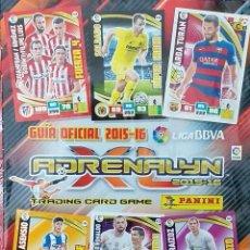 Coleccionismo deportivo: GUÍA OFICIAL 2015-2016 ADRENALYN. LIGA BBVA. TRADING CARD GAME. PANINI 2015-16. Lote 209130475