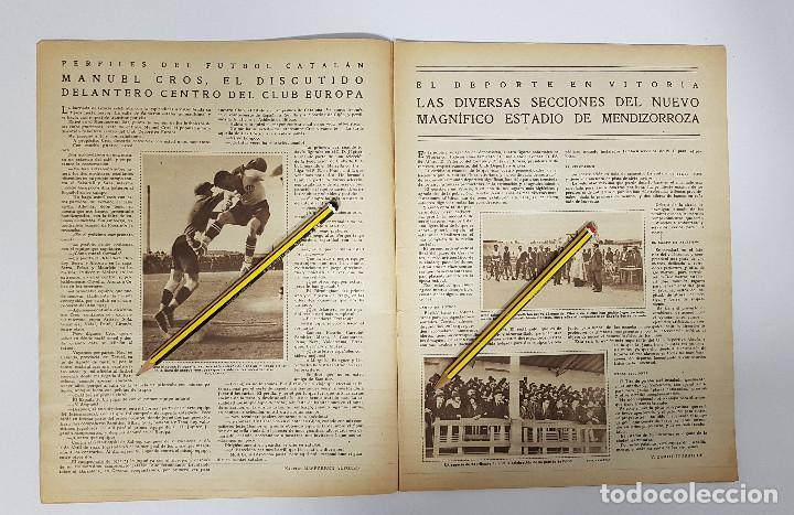 Coleccionismo deportivo: REVISTA AIRE LIBRE 1925 Nº 99. CICLISMO SAN SEBASTIAN ANDALUCIA.MENDIZORROZA.REAL MADRID,SIDECARS, - Foto 3 - 228463295