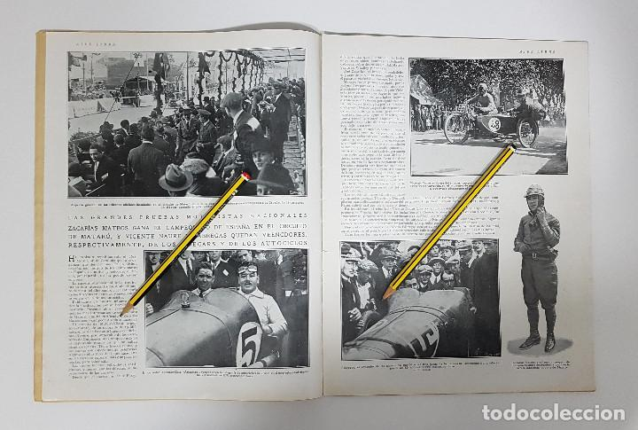 Coleccionismo deportivo: REVISTA AIRE LIBRE 1925 Nº 99. CICLISMO SAN SEBASTIAN ANDALUCIA.MENDIZORROZA.REAL MADRID,SIDECARS, - Foto 5 - 228463295
