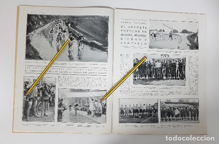 Coleccionismo deportivo: REVISTA AIRE LIBRE 1925 Nº 99. CICLISMO SAN SEBASTIAN ANDALUCIA.MENDIZORROZA.REAL MADRID,SIDECARS, - Foto 7 - 228463295