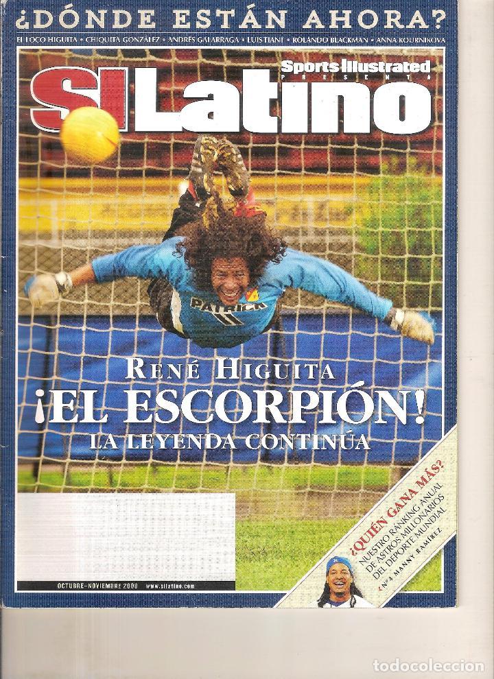 SPORT ILUSTRATED LATINO OCTUBRE-NOVIEMBRE 2008 (Coleccionismo Deportivo - Revistas y Periódicos - otros Fútbol)