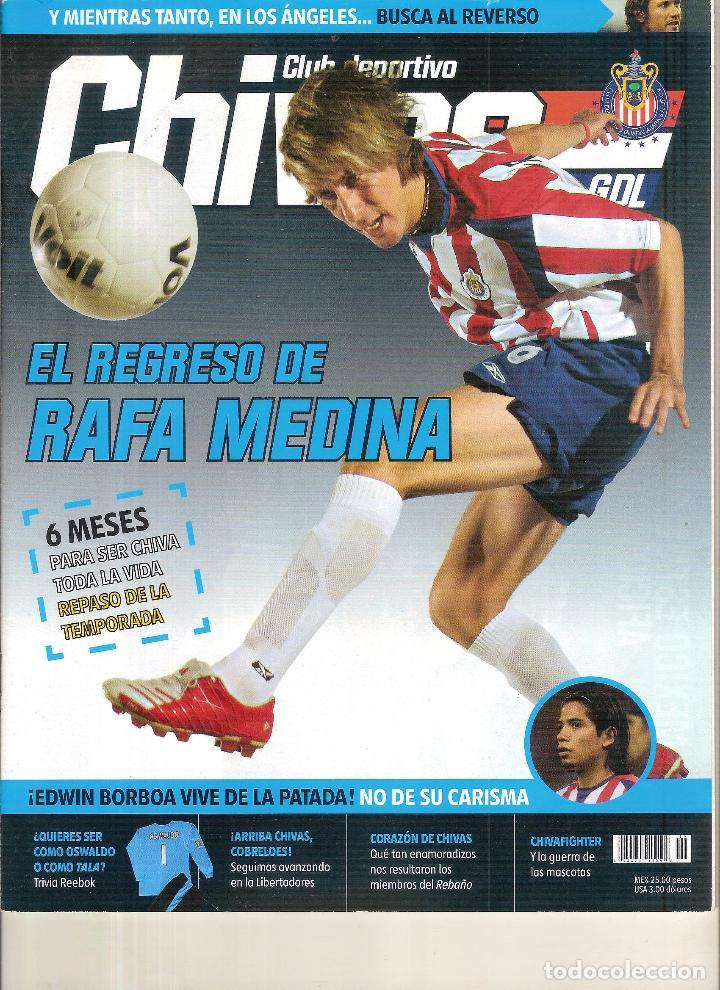 Coleccionismo deportivo: REVISTA OFICIAL DEL CD GUADALJARA CHIVAS MÉXICO - Foto 2 - 228875195