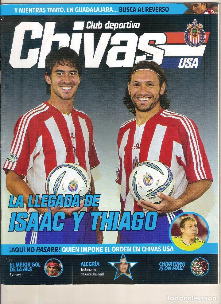 REVISTA OFICIAL DEL CD GUADALJARA CHIVAS MÉXICO (Coleccionismo Deportivo - Revistas y Periódicos - otros Fútbol)