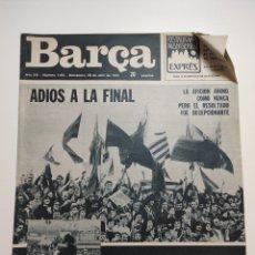Coleccionismo deportivo: REVISTA BARÇA NUM 1015 29.ABRIL 1975. Lote 229079401