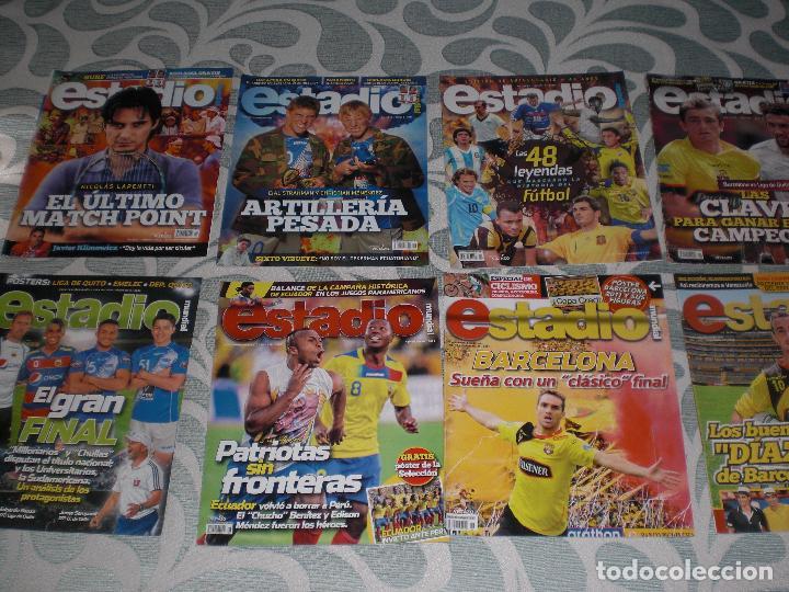 Coleccionismo deportivo: LOTE 56 REVISTAS ESTADIO ECUADOR (VER FOTOS Y PORTADAS) - Foto 3 - 232157170