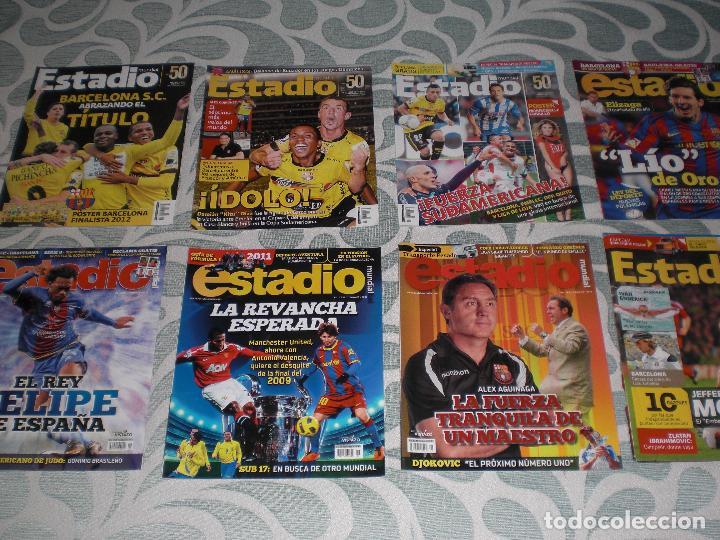 Coleccionismo deportivo: LOTE 56 REVISTAS ESTADIO ECUADOR (VER FOTOS Y PORTADAS) - Foto 5 - 232157170