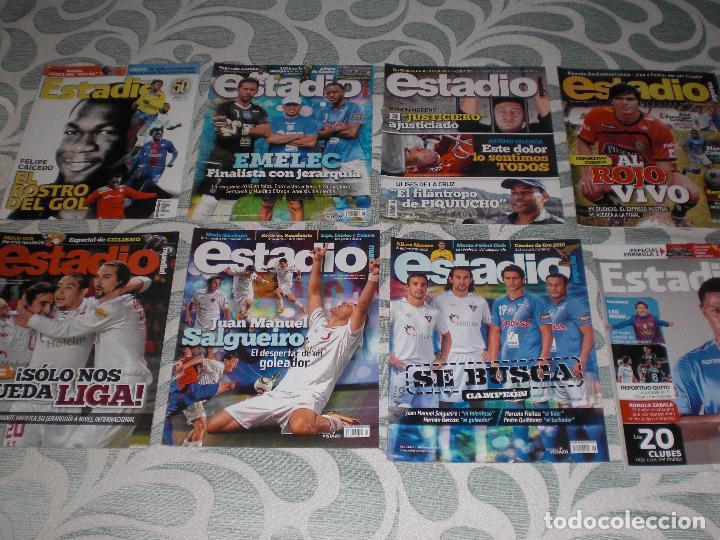 Coleccionismo deportivo: LOTE 56 REVISTAS ESTADIO ECUADOR (VER FOTOS Y PORTADAS) - Foto 6 - 232157170