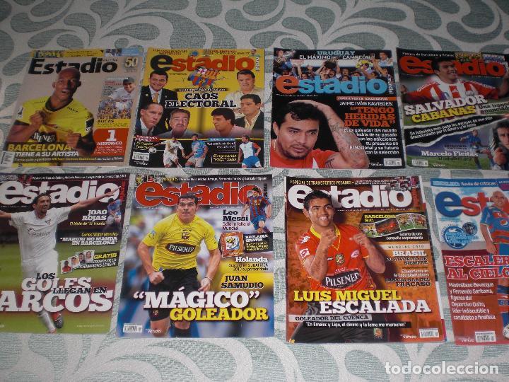Coleccionismo deportivo: LOTE 56 REVISTAS ESTADIO ECUADOR (VER FOTOS Y PORTADAS) - Foto 7 - 232157170