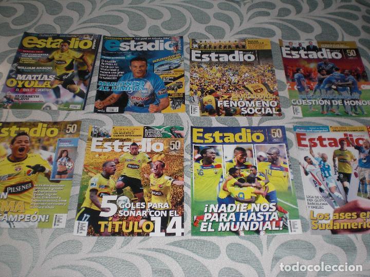 Coleccionismo deportivo: LOTE 56 REVISTAS ESTADIO ECUADOR (VER FOTOS Y PORTADAS) - Foto 8 - 232157170