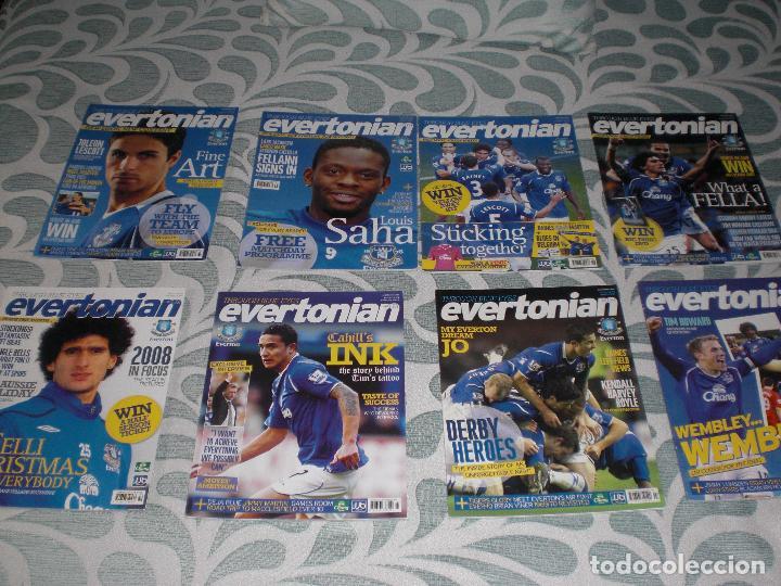 Coleccionismo deportivo: LOTE 20 REVISTAS EVERTONIAN EVERTON INGLATERRA (VER FOTOS Y PORTADAS) - Foto 3 - 232157610