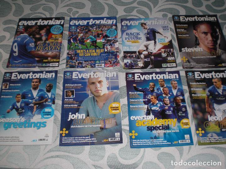 Coleccionismo deportivo: LOTE 20 REVISTAS EVERTONIAN EVERTON INGLATERRA (VER FOTOS Y PORTADAS) - Foto 4 - 232157610
