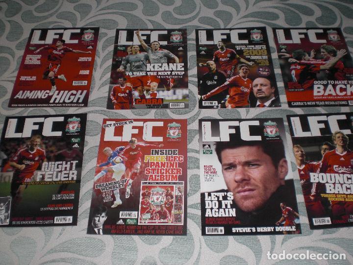 Coleccionismo deportivo: LOTE 52 REVISTAS LIVERPOOL INGLATERRA (VER FOTOS Y PORTADAS) - Foto 5 - 232158085