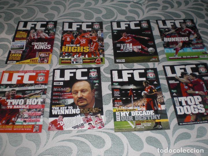 Coleccionismo deportivo: LOTE 52 REVISTAS LIVERPOOL INGLATERRA (VER FOTOS Y PORTADAS) - Foto 6 - 232158085