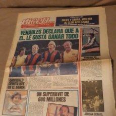 Coleccionismo deportivo: DIARIO DEPORTIVO DICEN N° 6103 .AGOSTO DE 1984 .DEBUT DE ARCHIBALD.. Lote 233424730
