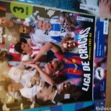 Coleccionismo deportivo: VENDO GUÍA LA LIGA DE LOS CRACKS 2007-08. Lote 233975740