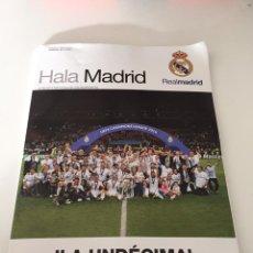 Coleccionismo deportivo: HALA MADRID UNDECIMA. Lote 234541905