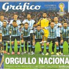 Collectionnisme sportif: EL GRÁFICO ARGENTINA ESPECIAL MUNDIAL 2014. Lote 234650025