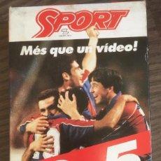 Coleccionismo deportivo: FC BARCELONA. VHS. BARÇA. DEL 0-5 AL 5-0. BUEN ESTADO.. Lote 234891970