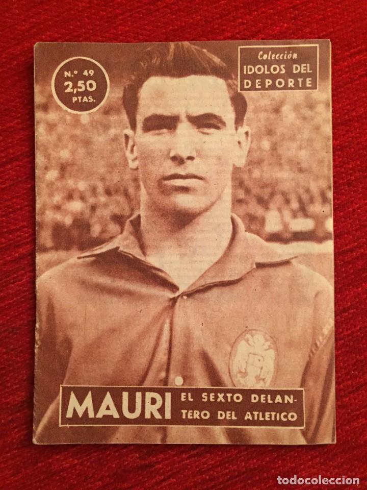 R11429 REVISTA COLECCION IDOLOS DEL DEPORTE ATHLETIC BILBAO MAURI MAURICIO UGARTEMENDIA (Coleccionismo Deportivo - Revistas y Periódicos - otros Fútbol)