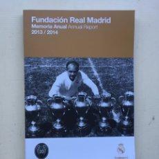 Coleccionismo deportivo: FUNDACIÓN REAL MADRID 2013 2014. Lote 235190545