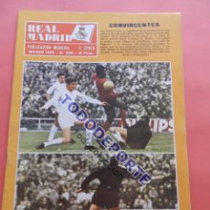 Coleccionismo deportivo: REVISTA OFICIAL REAL MADRID Nº 226 1969 LIGA 68/69 SABADELL. Lote 235621060
