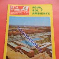 Coleccionismo deportivo: REVISTA OFICIAL REAL MADRID 1969 Nº 231 FLEITAS - VELAZQUEZ. Lote 235638065