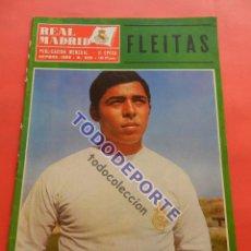 Coleccionismo deportivo: REVISTA OFICIAL REAL MADRID 1969 Nº 232 PRESENTACION TEMPORADA 69/70 - FLEITAS - GENTO MIGUEL MUÑOZ. Lote 235638345