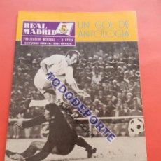 Coleccionismo deportivo: REVISTA OFICIAL REAL MADRID 1969 Nº 233 LIGA 69/70 - PANATHINAIKOS - COPA EUROPA OLYMPIAKOS - ZOCO. Lote 235638730