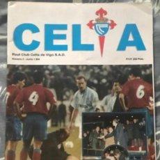 Coleccionismo deportivo: ANTIGUA REVISTA REAL CLUB CELTA DE VIGO NÚMERO 2 1994. Lote 235656350