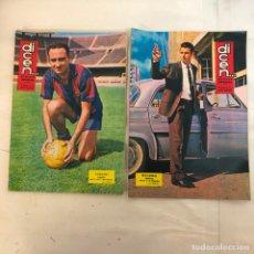 Coleccionismo deportivo: REVISTA DICEN, 2 NUMEROS 611, 612 - MUY BIEN CONSERVADAS. Lote 235657625