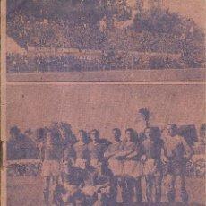 Coleccionismo deportivo: REVISTA FOLLETO DEPORTIVO META DEDICADO AL XEREZ CLUB EN LA COPA 1942-43. Lote 235709630