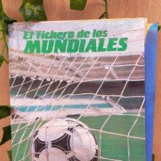 Coleccionismo deportivo: FASCICULOS LOS FICHEROS DE LOS MUNDIALES. Lote 235812220