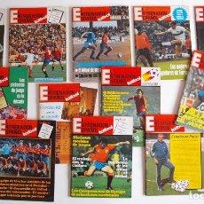 Coleccionismo deportivo: LOTE DE 14 REVISTAS DE EL ENTRENADOR ESPAÑOL FUTBOL 2ª ÉPOCA - Nº 1, 2, 3, 4, DEL 9 AL 16, 18 Y 19. Lote 235822635