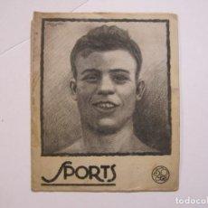 Coleccionismo deportivo: SPORTS-Nº 17-AÑO 1924-AUSTRIA VS ITALIA-FC BARCELONA-SESTAO VS VALENCIA-ARRATE-VER FOTOS-(V-22.472). Lote 236034360