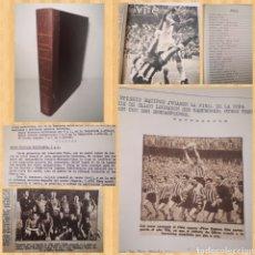 Coleccionismo deportivo: TEMPORADA 1972-1973.TOMO CASERO ÚNICO CON CRÓNICAS A MÁQUINA DE ESCRIBIR Y RECORTES. Lote 236101860