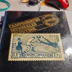 Coleccionismo deportivo: CAMPEONATOS MUNDIALES DE FUTBOL DE LUIS MARIA LORENTE ARGOS VERGARA. Lote 236262700
