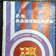 Coleccionismo deportivo: LIBRO CLUB DE FUTBOL BARCELONA, BARÇA, PROGRAMA OFICIAL U.D. SALAMANCA F.C.BARCELONA, 1975. Lote 236364895
