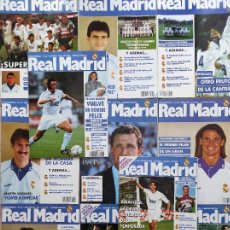 Coleccionismo deportivo: LOTE 11 REVISTA REAL MADRID OFICIAL AÑO 1994 COMPLETO Nº 53-54-55-56-57-58-59-60-61-62-63. Lote 236520450