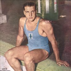 Coleccionismo deportivo: 1936 EL GRAFICO # 866 CHRISTENSEN LAMINA CASTILLO Y JOSE M. MORENO BOCA VS PEÑAROL CHARLES NUNGESSER. Lote 236662185