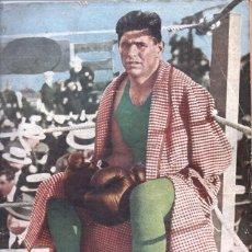Coleccionismo deportivo: 1936 EL GRAFICO # 873 FIRPO BOCA VS REAL DEPORTIVO CORUÑES 1925 REGATAS INICIOS DE LA AVIACION G.P.. Lote 236670080