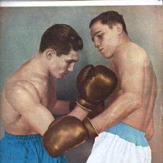 Coleccionismo deportivo: 1936 EL GRAFICO # 878 SAVOIA & AVERBOCH LAMINA SAMANIEGO BOCA VS VELEZ JOE LOUIS. Lote 236670520