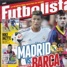 Coleccionismo deportivo: FUTBOLISTA Nº 125. MADRID VS. BARCA DUELO DE COLOSOS. Lote 236707890